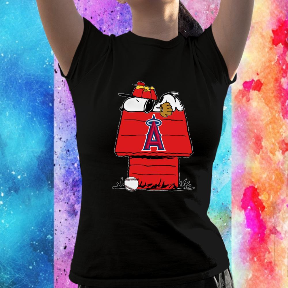 Baseball Snoopy House Los Angeles Unisex T-Shirt